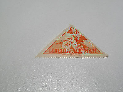 Timbre Poste Neuf Stamp TTB Liberia Air Mail Waterlow & Sons 4c