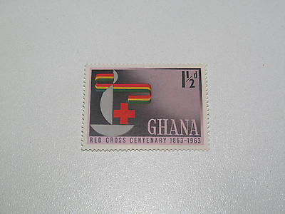 Timbre Poste Neuf Stamp TTB Ghana Red Cross Centenary Croix Rouge