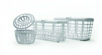 Complete Dishwasher Basket System Clean Sanitize Baby Food Parts and