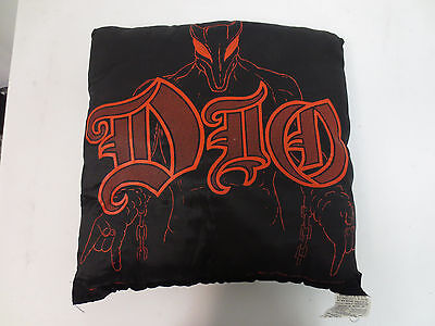 Dio Rock & Roll Pillow Band 19X19 Inches Nikry Novelties Vintage Retro Vtg Cool