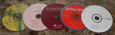 Britney Spears 2000 Import Usa Jive Records Remix Cd Maxi Single Lot (5)