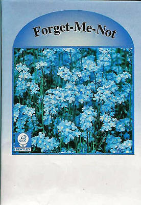 Flower Seed Packets, Forget-Me-Not, 1000 Pkg - Marketing Advertising Promotion