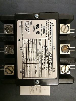 New Tyco Magnetic Contactor ACC730U20- 110/120V, 50/60 HZ