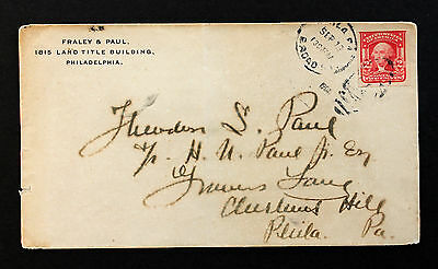 US Stamp Sc #320 on Cover Sept. 13, 1907