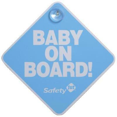 Safety 1st Baby On Board Sign, Blue New