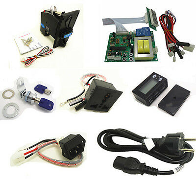 timer set for 220V EURO EU plug multi coin operated Time Control Power Supply