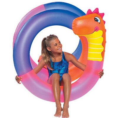 SunSplash Crazy Dino Coil Swimming Pool Beach & Lake Float