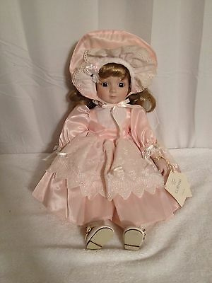 "16"" Gorham Elizabeth Musical China Doll Plays ""My Favorite Things"""