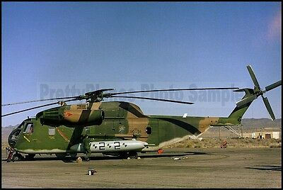 USAF Sikorsky HH-53 Pave Low Helicopter Hill AFB 1983 8x12 Photo