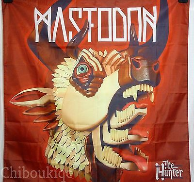 MASTODON The Hunter HUGE 4X4 BANNER poster tapestry cd album cover art