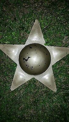 Vintage AWESOME WROUGHT IRON ORNAMENTAL STAR