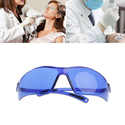 Blue IPL Beauty Protective Red Laser Safety Goggles Glasses 200-1200nm