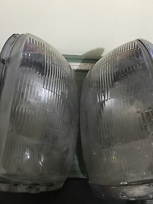 OEM Mercedes Benz 200 to 280 Set EURO HEADLIGHT.  W114 / W115. Made in Germany.