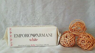 Emporio armani WHITE FOR HER eau de toilette  100ml spray, descatalogada rare