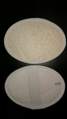 Natural bath/shower loofah - 2 pack