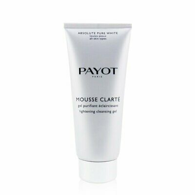 Payot Absolute Pure White Mousse Clarte Lightening Cleansing Gel 200ml Cleansers