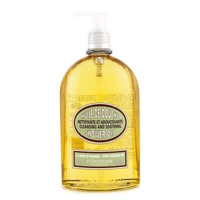 L'Occitane Almond Cleansing & Soothing Shower Oil 500ml