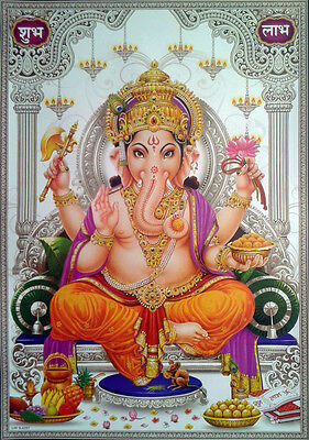 "Lord Ganesha Shree Ganesh - POSTER (Large Size: 20""x28"")"