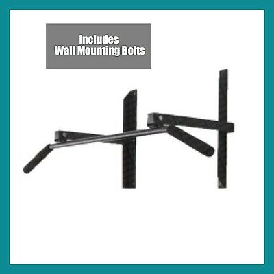 """ MAX STEEL"" DELUXE WALL MOUNTED CHIN UP BAR FRAME + Wall Bolts"