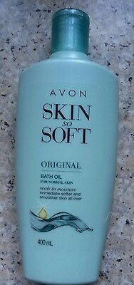 Avon Skin So Soft - Original Bath Oil for Normal Skin 400mls