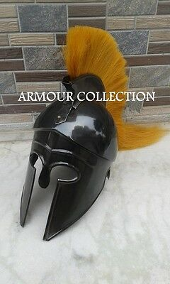 "Greek Corinthian Armour Helmet""-Spartan Ancient Knight Crusader Helmet"