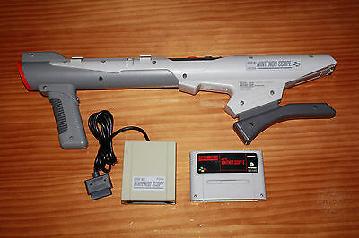 Nintendo Scope Super Nintendo SNES + Receiver + Scope 6