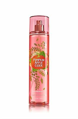 Bath and Body Works Pumpkin Apple Cider Fragrance Mist Signature Collection.