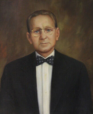William Andrew Giles Hand Painted By Artist Man Portrait Oil Painting On Canvas