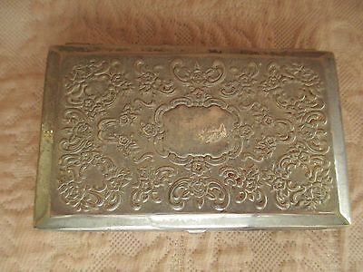 Godinger Ornate Silver Plated Trinket Box with Mirror