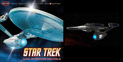Polar Lights incl Aztek Decals & LED Beleuchtung 1/350 Star Trek Enterprise 808