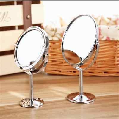 Beauty Makeup Cosmetic Mirror & Double-Sided Normal and Magnifying Stand MirrorW