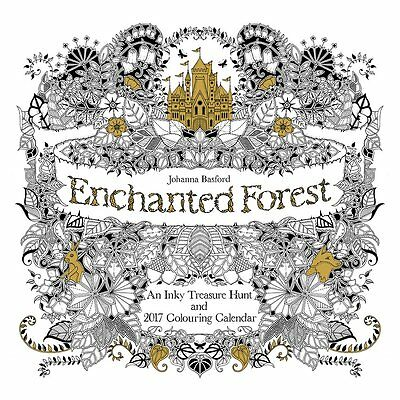 Johanna Basford (Enchanted Forest) Official  Calendar 2017