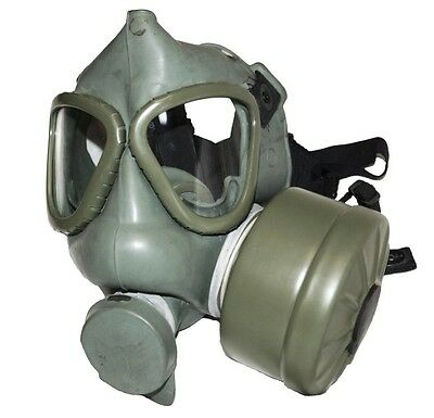 RUSSIAN MILITARY GAS MASK emergency survival respiritor olive removable filter