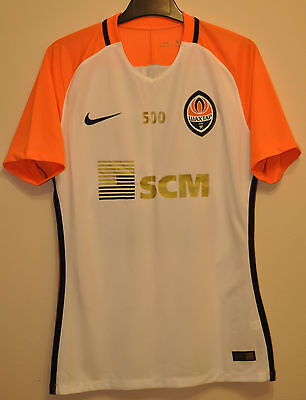 Shakhtar Donetsk Ukraine Match Worn Issue Football Shirt Jersey #33 Darijo Srna