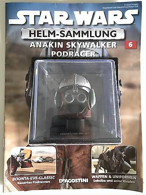 "Star Wars Helm-Sammlung - ""Anakin Skywalker Podracer"" - Nr.6"