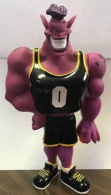"Space Jam Monstars Bupkus 1996 Vinyl 10"" Figure Purple Alien Monster Basketball"