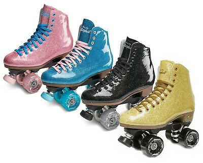Indoors And Outdoors High Top Glitter Roller Skate