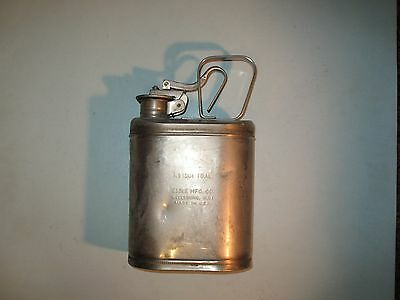 vintage ONE GALLON EAGLE MFG CO. STAINLESS STEEL SAFETY CAN ~NICE~