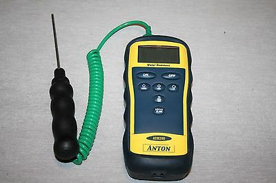 Anton ATM 200 Thermocouple Thermometer Measuring with Temp Probe