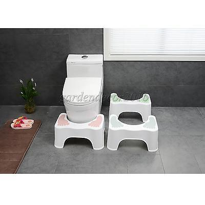 Sit and Squatty Potty Eco Toilet step Stool Colon Adult Kids Training Multi