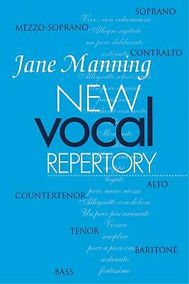 Jane Manning • New Vocal Repertory