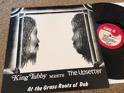 King Tubby Meets The Upsetter At The Grass Roots Of Dub LP Vinyl New