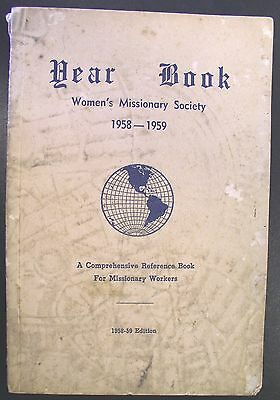 1958 A.M.E. Church Women's Missionary Society YEAR BOOK