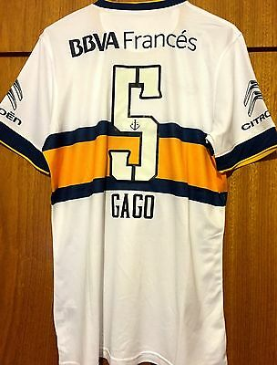 Boca Juniors 2015 Players Version Full Squad Hand Signed Shirt