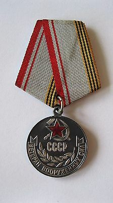 "Russian Soviet Medal ""Veteran of the Armed Forces of the USSR"""