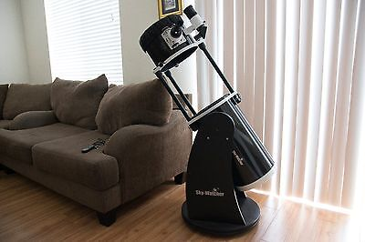 10 Inch Dobsonian Telescope Black Skywatcher WITH LOTS OF ACCESSORIES!!