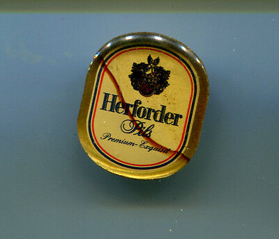 Pin Herforder Pils  - Bierwerbung  (JR)