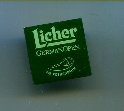 Pin Licher German Open  - Bierwerbung  (JR)