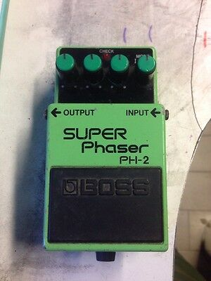 Super Phaser Boss PH-2 Made In Japan Vintage