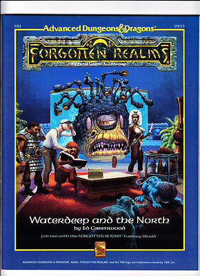 Waterdeep and the North - Forgotten Realms Accessory - AD&D